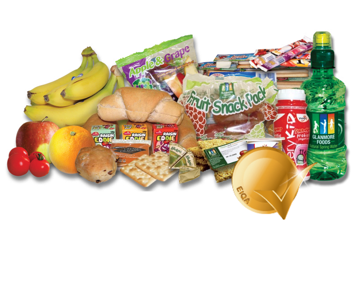 School Lunches - Glanmore Foods - Award Winning Nutritious